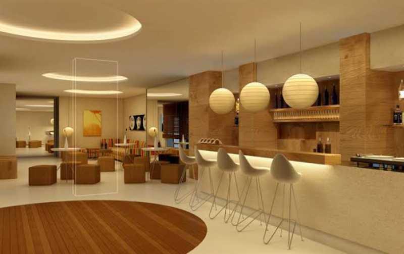 Salão de festas - Exelente apartamento em Del Castilho em condominio fechado, alto sol da manha, com sala dois ambientes e varanda, dois quartos com um armario planejado, banheiro completo social, cozinha com armario olanejado, área de serviço e vaga na escritura, condomin - VPAP21728 - 16