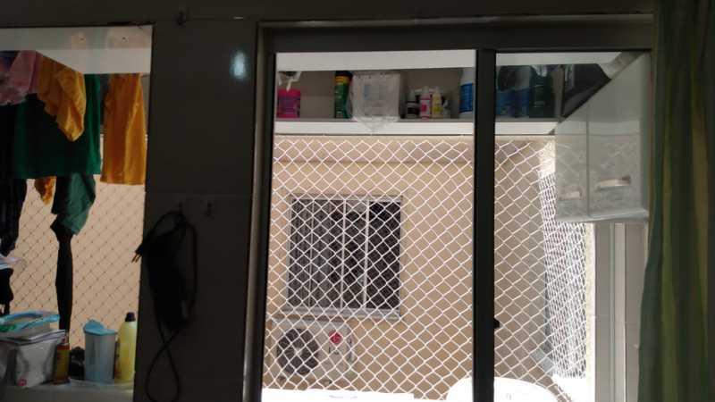 Área de serviço - Apartamento à venda Rua do Amparo,Cascadura, Rio de Janeiro - R$ 298.000 - VPAP21729 - 11