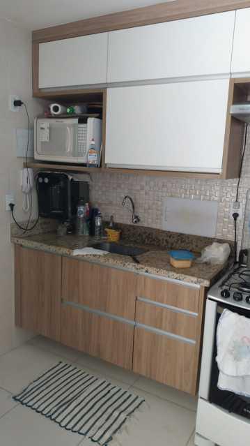 Cozinha. - Apartamento à venda Rua do Amparo,Cascadura, Rio de Janeiro - R$ 298.000 - VPAP21729 - 8