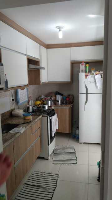 Cozinha - Apartamento à venda Rua do Amparo,Cascadura, Rio de Janeiro - R$ 298.000 - VPAP21729 - 9