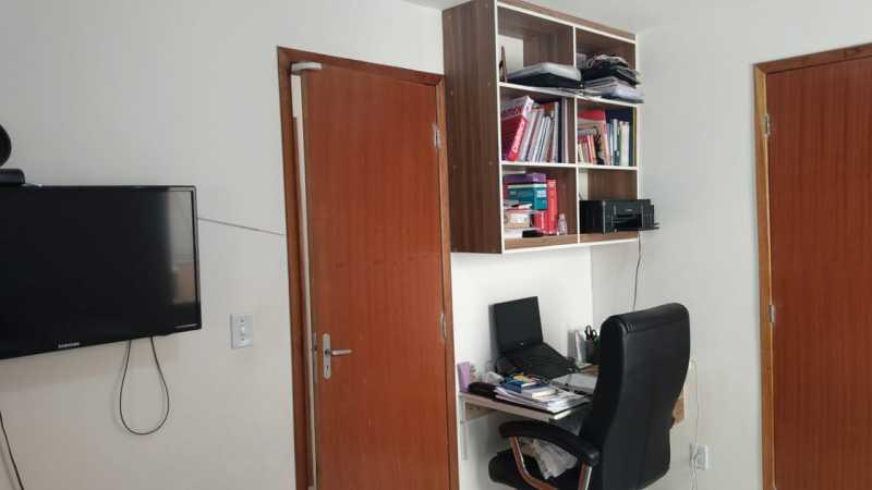 Escritório. - Apartamento à venda Rua do Amparo,Cascadura, Rio de Janeiro - R$ 298.000 - VPAP21729 - 7