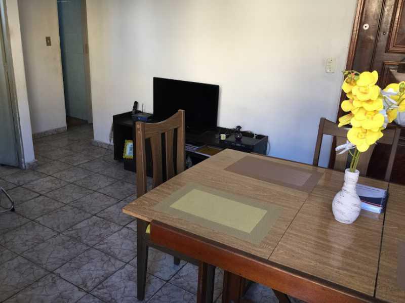 04- Sala - Apartamento 2 quartos proximo ao shopping carioca, praça viseu, parme comercios e banco. com uma vaga de garagem no condominio, composto de sala ampla em 2 ambientes, banheiro social, 2 quartos espaçosos cozinha com área acoplada. Imovel todo em piso fri - VPAP21731 - 5