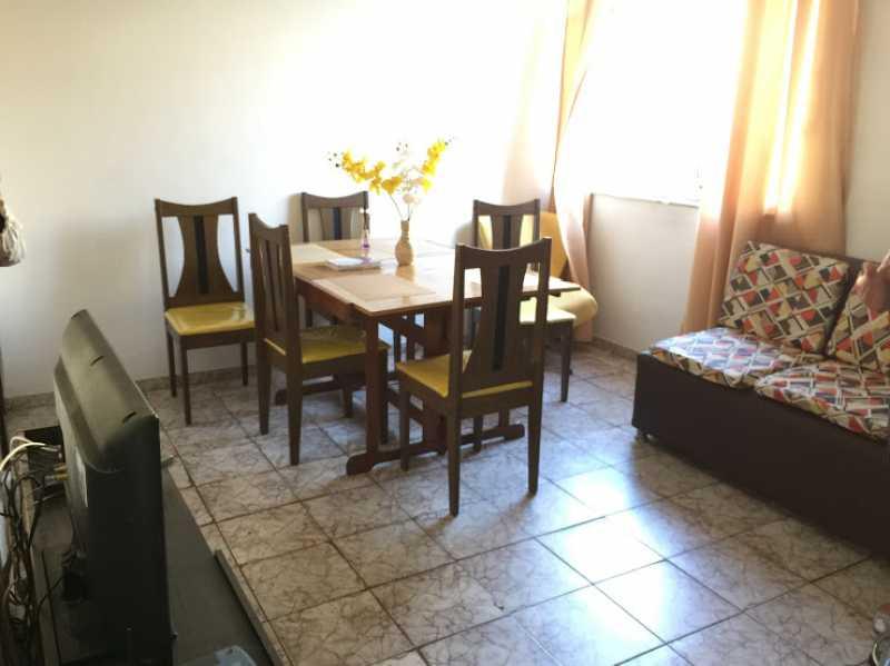 05- Sala - Apartamento 2 quartos proximo ao shopping carioca, praça viseu, parme comercios e banco. com uma vaga de garagem no condominio, composto de sala ampla em 2 ambientes, banheiro social, 2 quartos espaçosos cozinha com área acoplada. Imovel todo em piso fri - VPAP21731 - 6