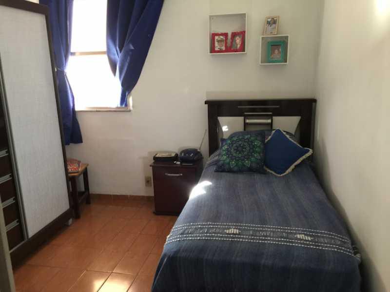 10- Quarto S. - Apartamento 2 quartos proximo ao shopping carioca, praça viseu, parme comercios e banco. com uma vaga de garagem no condominio, composto de sala ampla em 2 ambientes, banheiro social, 2 quartos espaçosos cozinha com área acoplada. Imovel todo em piso fri - VPAP21731 - 12