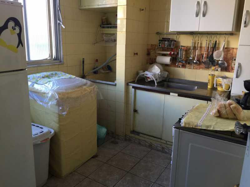 16- Cozinha e Area - Apartamento 2 quartos proximo ao shopping carioca, praça viseu, parme comercios e banco. com uma vaga de garagem no condominio, composto de sala ampla em 2 ambientes, banheiro social, 2 quartos espaçosos cozinha com área acoplada. Imovel todo em piso fri - VPAP21731 - 18