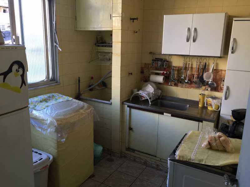 17- Cozinha e Area - Apartamento 2 quartos proximo ao shopping carioca, praça viseu, parme comercios e banco. com uma vaga de garagem no condominio, composto de sala ampla em 2 ambientes, banheiro social, 2 quartos espaçosos cozinha com área acoplada. Imovel todo em piso fri - VPAP21731 - 19