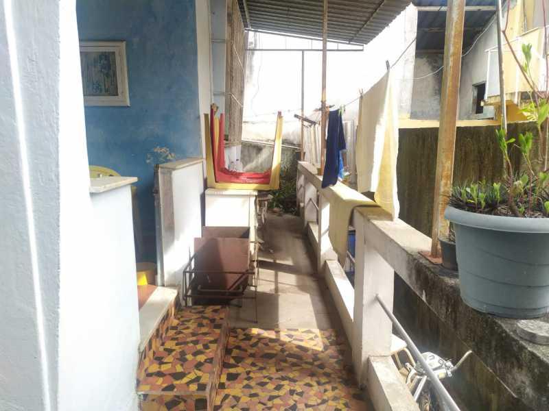 Área esterna. - Casa 2 quartos à venda Irajá, Rio de Janeiro - R$ 220.000 - VPCA20337 - 23