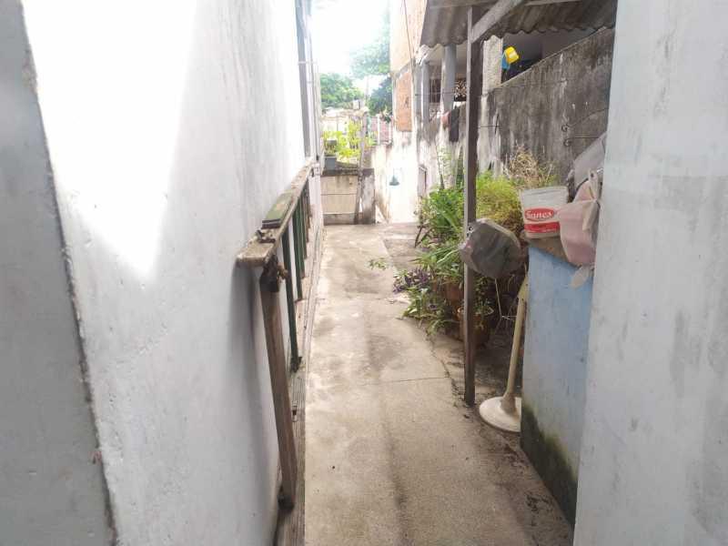 Área externa..... - Casa 2 quartos à venda Irajá, Rio de Janeiro - R$ 220.000 - VPCA20337 - 21