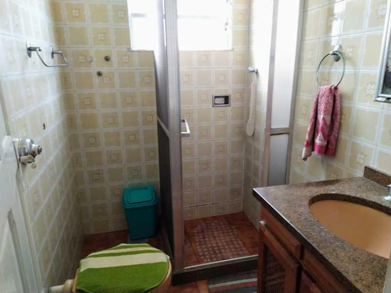 Banheiro social. - Casa 2 quartos à venda Irajá, Rio de Janeiro - R$ 220.000 - VPCA20337 - 10