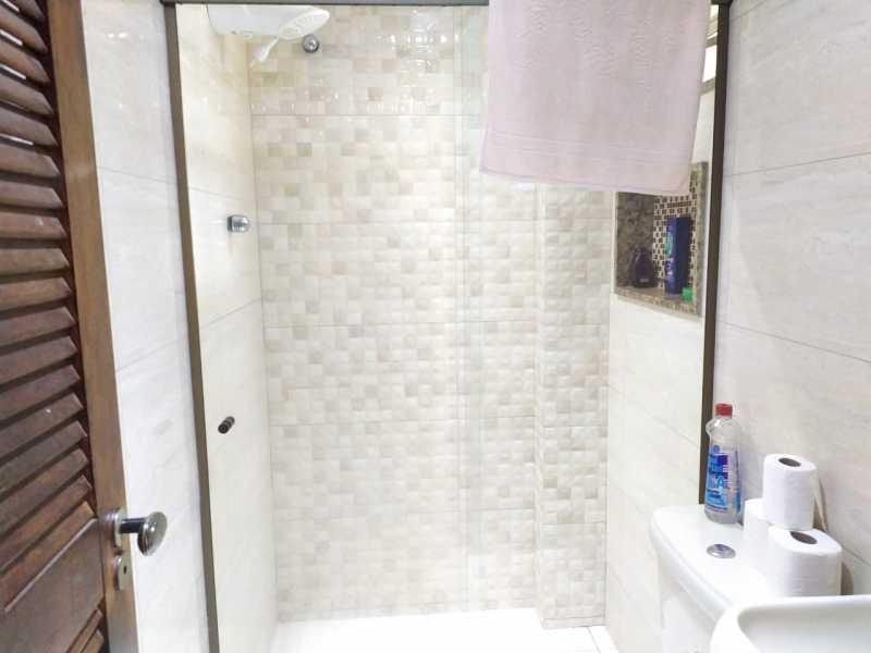 Banheiro social. - Apartamento 2 quartos à venda Inhaúma, Rio de Janeiro - R$ 175.000 - VPAP21738 - 12