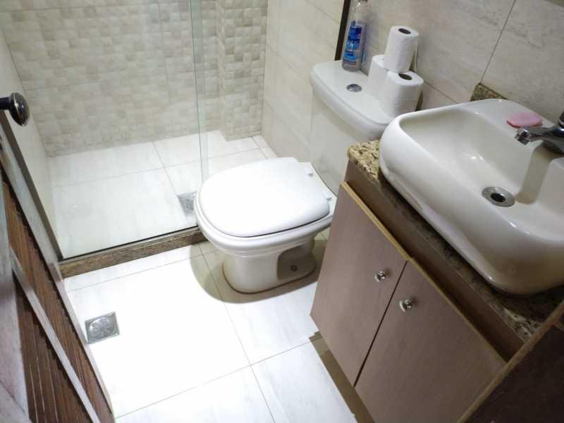 Banheiro social - Apartamento 2 quartos à venda Inhaúma, Rio de Janeiro - R$ 175.000 - VPAP21738 - 13
