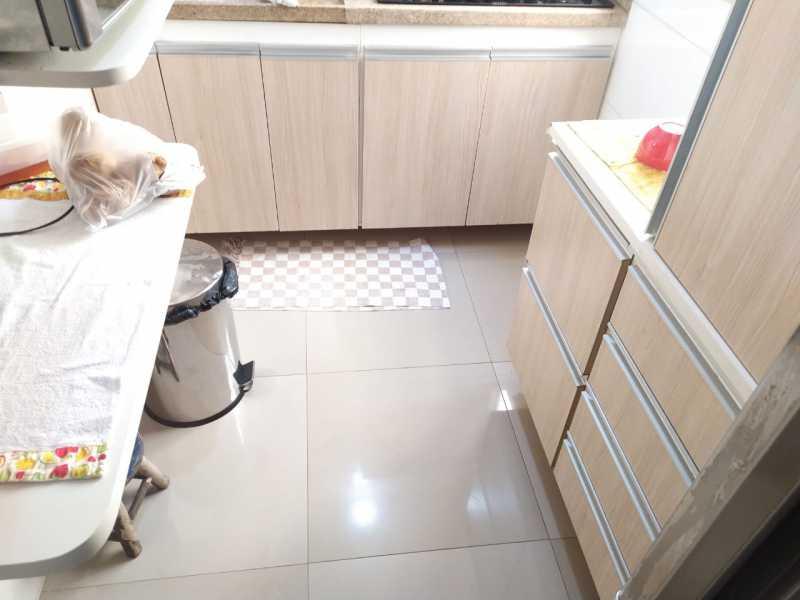 Cozinha.... - Apartamento 2 quartos à venda Inhaúma, Rio de Janeiro - R$ 175.000 - VPAP21738 - 20
