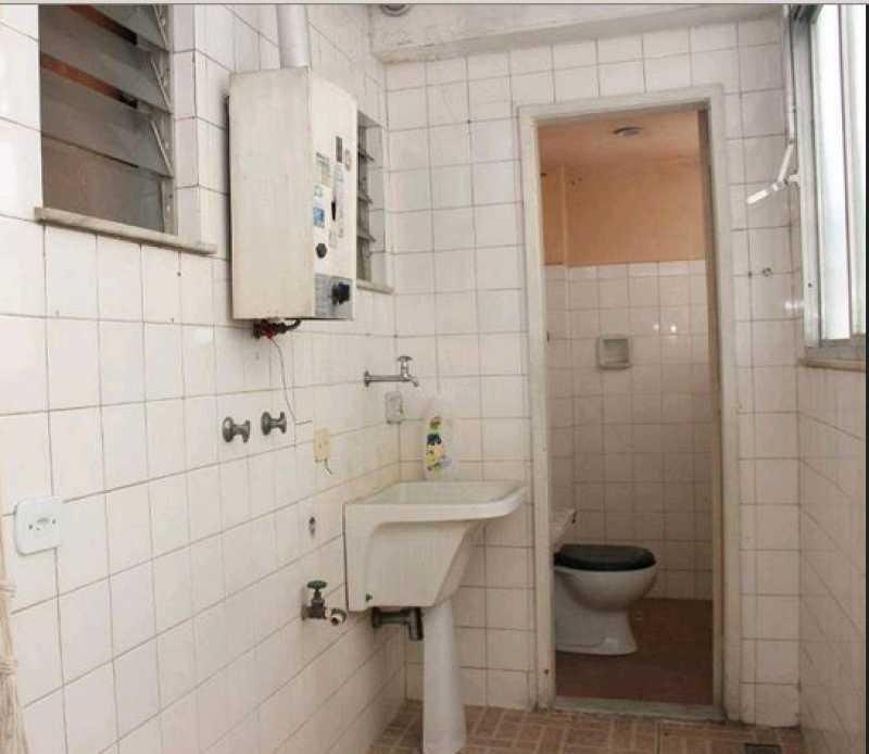 Lavanderia e banheiro serviço - Apartamento 3 quartos à venda Vila Isabel, Rio de Janeiro - R$ 380.000 - VPAP30452 - 24
