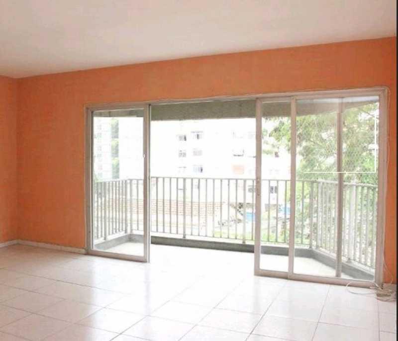 Vranda e sala - Apartamento 3 quartos à venda Vila Isabel, Rio de Janeiro - R$ 380.000 - VPAP30452 - 3