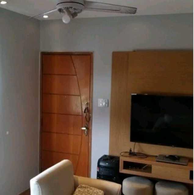 SALA - Apartamento à venda Rua General Cláudio,Marechal Hermes, Rio de Janeiro - R$ 200.000 - VPAP21743 - 1