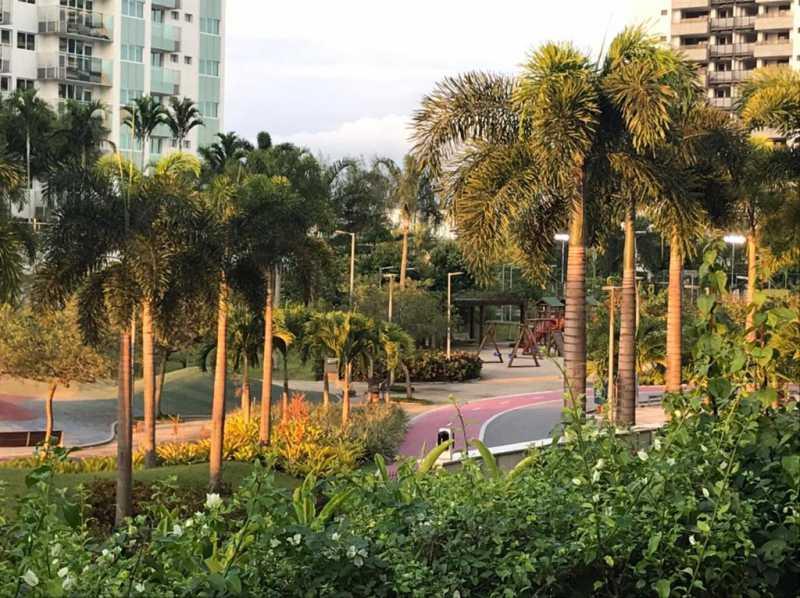 Área de lazer.. - Apartamento à venda Rua Escritor Rodrigo Melo Franco,Barra da Tijuca, Rio de Janeiro - R$ 780.000 - VPAP21744 - 28