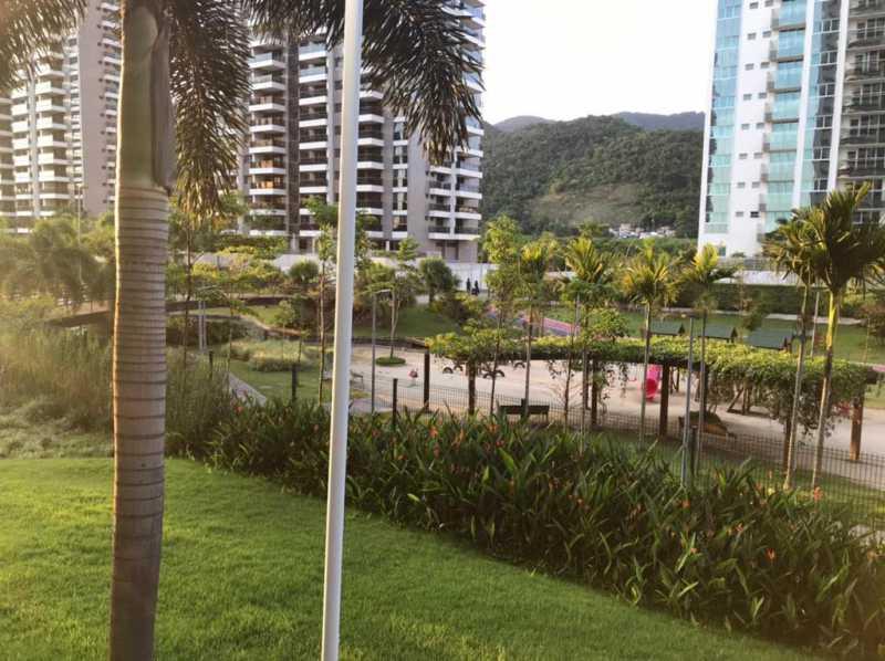 Área de lazer. - Apartamento à venda Rua Escritor Rodrigo Melo Franco,Barra da Tijuca, Rio de Janeiro - R$ 780.000 - VPAP21744 - 25