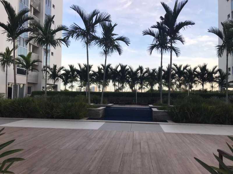 Área de lazer - Apartamento à venda Rua Escritor Rodrigo Melo Franco,Barra da Tijuca, Rio de Janeiro - R$ 780.000 - VPAP21744 - 29