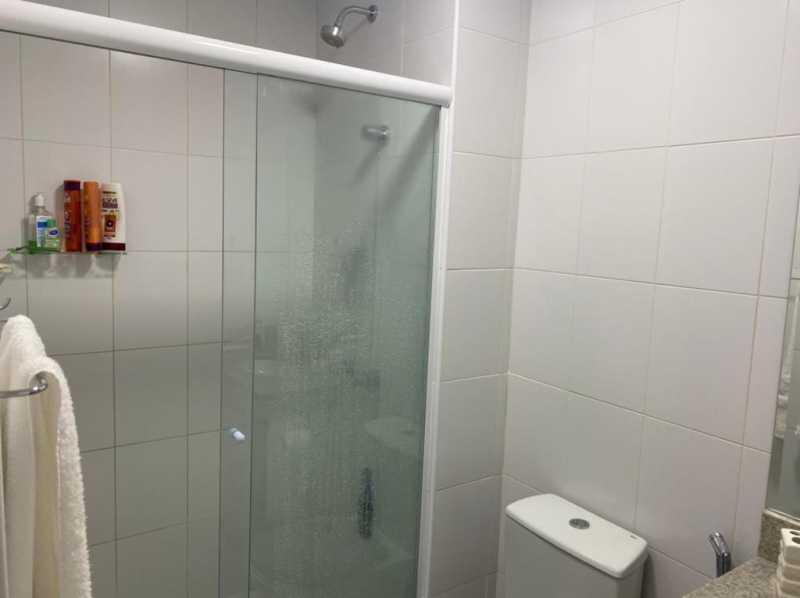 Banheiro suite - Apartamento à venda Rua Escritor Rodrigo Melo Franco,Barra da Tijuca, Rio de Janeiro - R$ 780.000 - VPAP21744 - 15