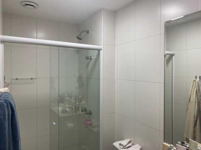 Banheiro social - Apartamento à venda Rua Escritor Rodrigo Melo Franco,Barra da Tijuca, Rio de Janeiro - R$ 780.000 - VPAP21744 - 12