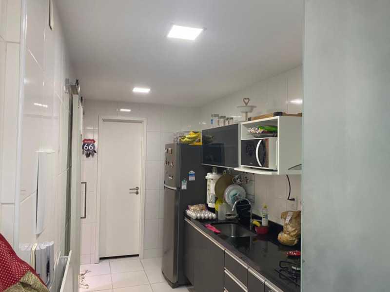 Cozinha.. - Apartamento à venda Rua Escritor Rodrigo Melo Franco,Barra da Tijuca, Rio de Janeiro - R$ 780.000 - VPAP21744 - 16