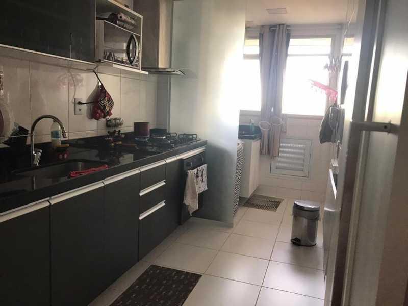 Cozinha - Apartamento à venda Rua Escritor Rodrigo Melo Franco,Barra da Tijuca, Rio de Janeiro - R$ 780.000 - VPAP21744 - 17