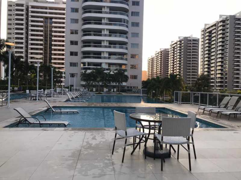 Piscina - Apartamento à venda Rua Escritor Rodrigo Melo Franco,Barra da Tijuca, Rio de Janeiro - R$ 780.000 - VPAP21744 - 23