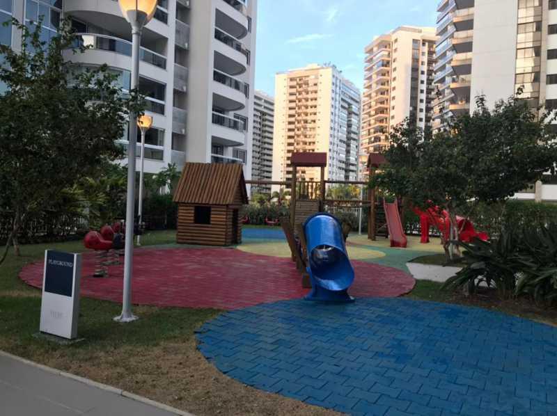 Playground - Apartamento à venda Rua Escritor Rodrigo Melo Franco,Barra da Tijuca, Rio de Janeiro - R$ 780.000 - VPAP21744 - 24