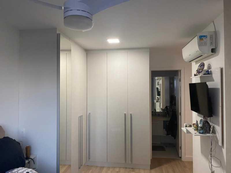 Quarto 1 - Apartamento à venda Rua Escritor Rodrigo Melo Franco,Barra da Tijuca, Rio de Janeiro - R$ 780.000 - VPAP21744 - 9