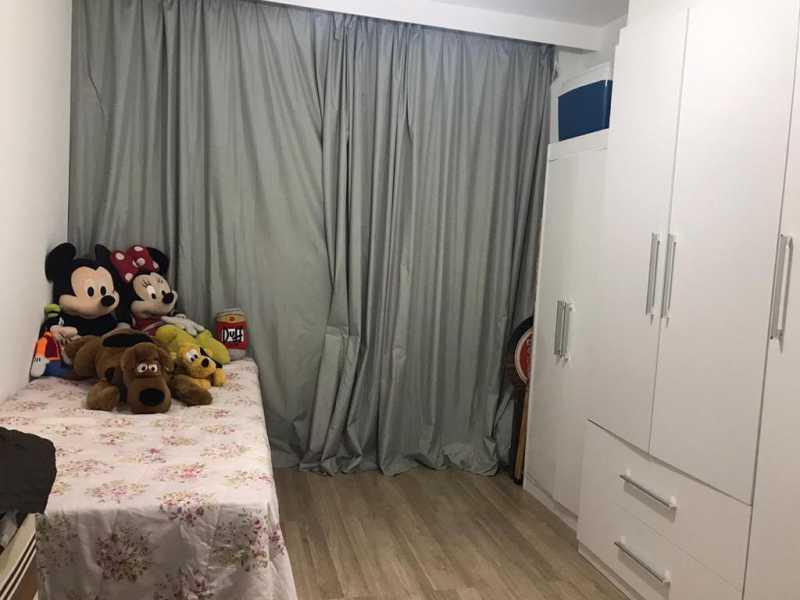 Quarto 2 - Apartamento à venda Rua Escritor Rodrigo Melo Franco,Barra da Tijuca, Rio de Janeiro - R$ 780.000 - VPAP21744 - 11