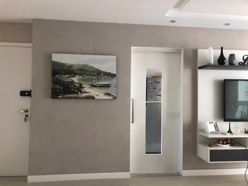 Sala. - Apartamento à venda Rua Escritor Rodrigo Melo Franco,Barra da Tijuca, Rio de Janeiro - R$ 780.000 - VPAP21744 - 7
