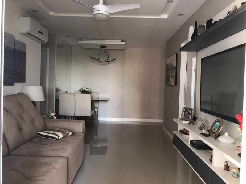 Sala - Apartamento à venda Rua Escritor Rodrigo Melo Franco,Barra da Tijuca, Rio de Janeiro - R$ 780.000 - VPAP21744 - 6