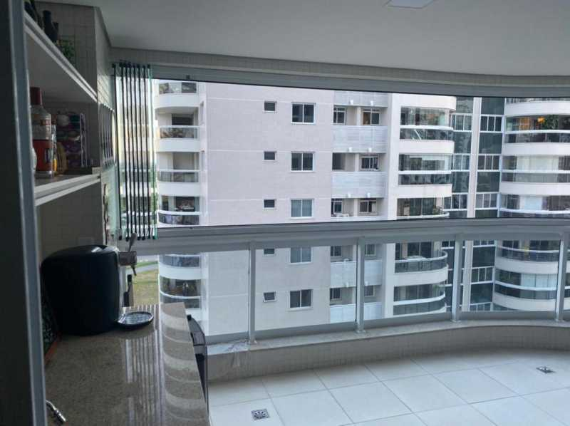 Varandão.. - Apartamento à venda Rua Escritor Rodrigo Melo Franco,Barra da Tijuca, Rio de Janeiro - R$ 780.000 - VPAP21744 - 3