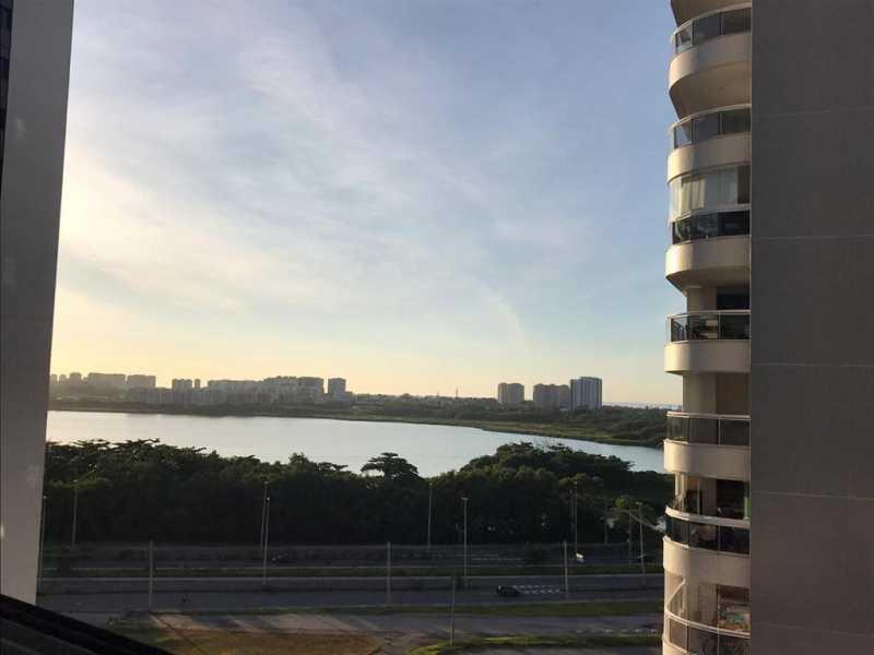 Vista do apto. - Apartamento à venda Rua Escritor Rodrigo Melo Franco,Barra da Tijuca, Rio de Janeiro - R$ 780.000 - VPAP21744 - 19