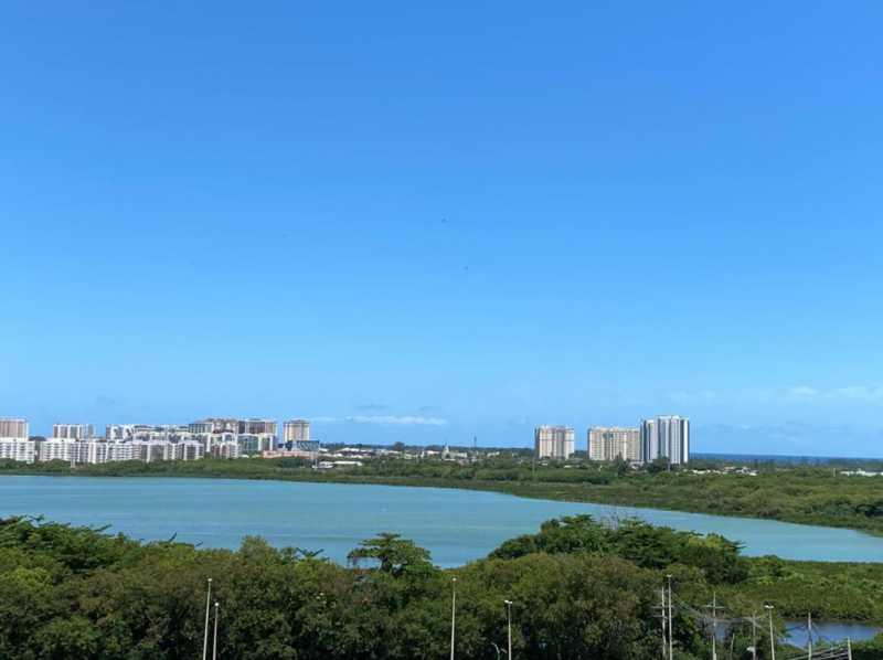 Vista do imóvel. - Apartamento à venda Rua Escritor Rodrigo Melo Franco,Barra da Tijuca, Rio de Janeiro - R$ 780.000 - VPAP21744 - 20