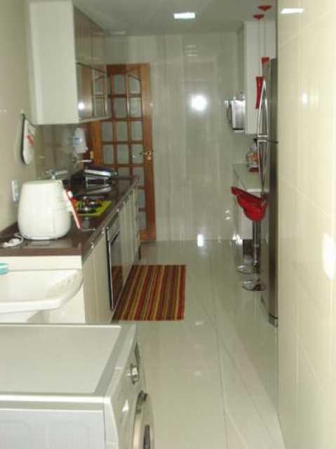Cozinha. - Apartamento à venda Rua Morais e Silva,Maracanã, Rio de Janeiro - R$ 790.000 - VPAP21745 - 13