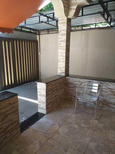 14 - Varanda e garagem. - Casa à venda Rua Jequiriça,Penha, Rio de Janeiro - R$ 500.000 - VPCA20339 - 3