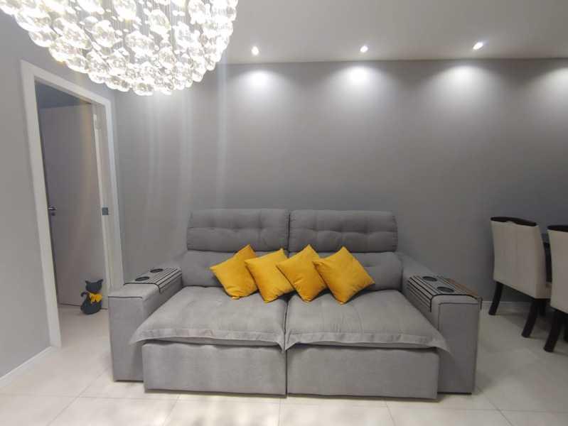 3-sala - Apartamento à venda Avenida Marechal Rondon,São Francisco Xavier, Rio de Janeiro - R$ 270.000 - VPAP21747 - 4