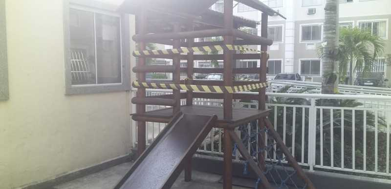 16 - Área Infantil - Apartamento à venda Avenida Brasil,Cordovil, Rio de Janeiro - R$ 235.000 - VPAP21750 - 16