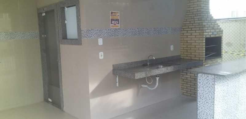 19 - Churrasqueira - Apartamento à venda Avenida Brasil,Cordovil, Rio de Janeiro - R$ 235.000 - VPAP21750 - 19