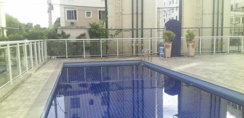 21 - Piscina - Apartamento à venda Avenida Brasil,Cordovil, Rio de Janeiro - R$ 235.000 - VPAP21750 - 21