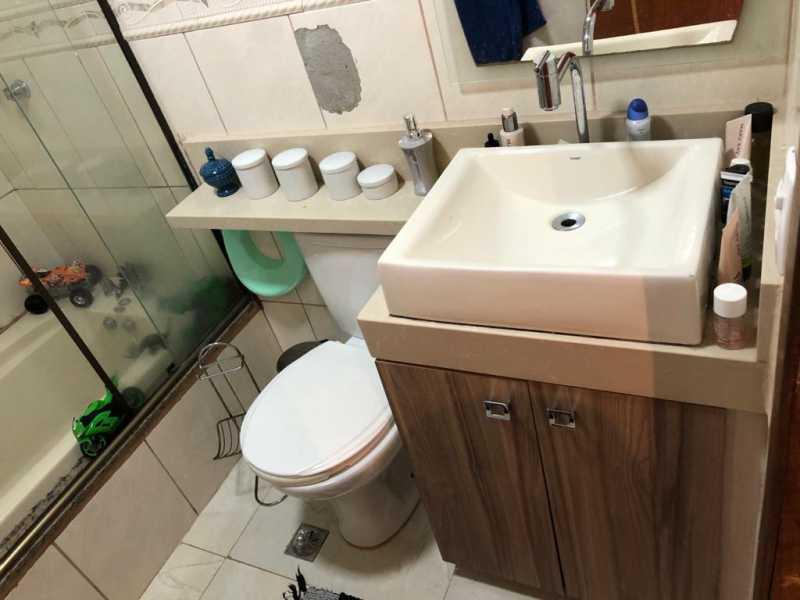 6-banheiro - Apartamento à venda Rua Fábio Luz,Méier, Rio de Janeiro - R$ 320.000 - VPAP21757 - 7