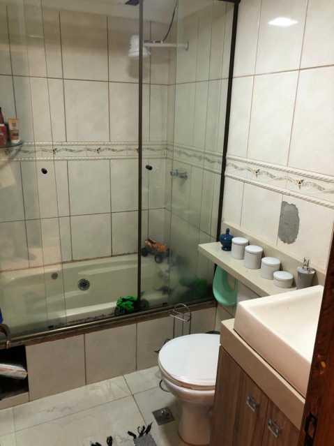 7-banheiro - Apartamento à venda Rua Fábio Luz,Méier, Rio de Janeiro - R$ 320.000 - VPAP21757 - 8