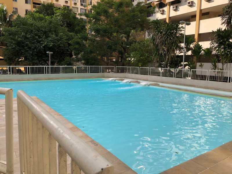 18-piscina - Apartamento à venda Rua Fábio Luz,Méier, Rio de Janeiro - R$ 320.000 - VPAP21757 - 19