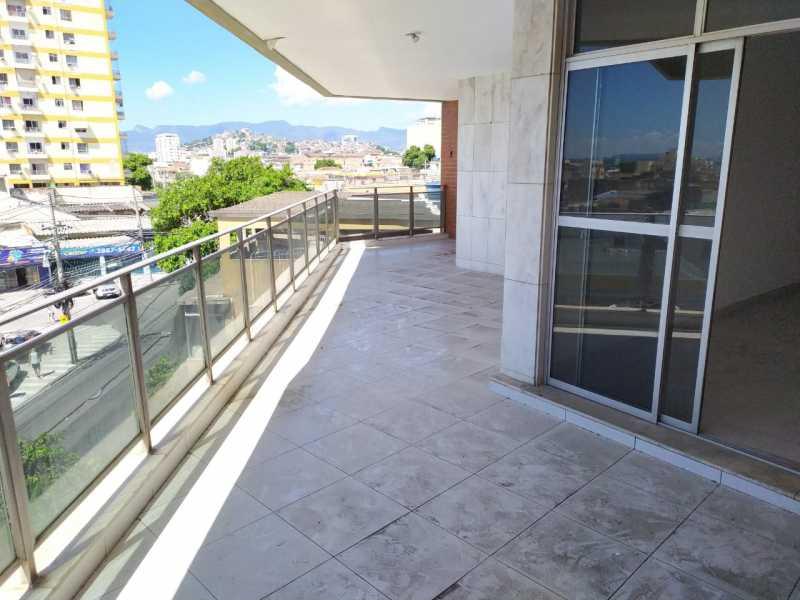 Varandão. - Apartamento à venda Rua Leopoldina Rego,Olaria, Rio de Janeiro - R$ 695.000 - VPAP30456 - 3
