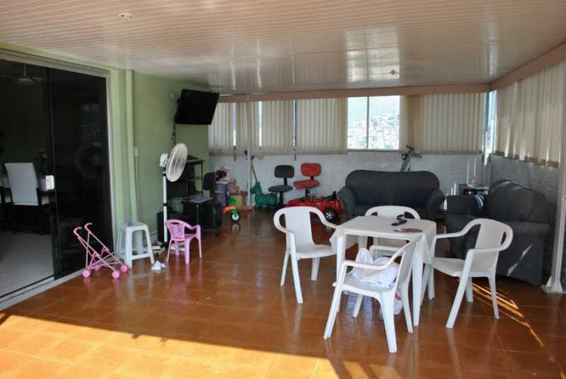 10- Sala ext. - Cobertura à venda Rua Senador Nabuco,Vila Isabel, Rio de Janeiro - R$ 460.000 - VPCO40010 - 13