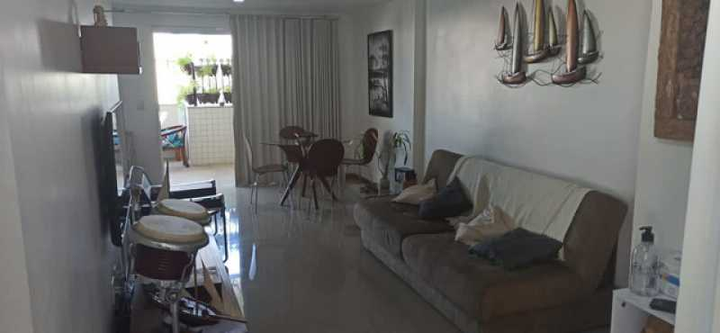 02- Sala - Cobertura 3 quartos à venda Tijuca, Rio de Janeiro - R$ 620.000 - VPCO30039 - 3