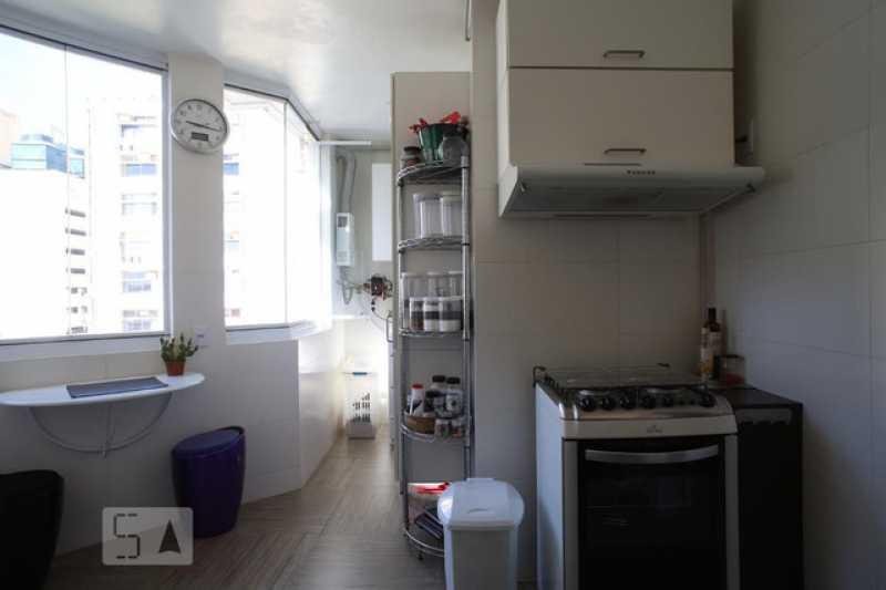 08- Cozinha e area - Cobertura 3 quartos à venda Tijuca, Rio de Janeiro - R$ 620.000 - VPCO30039 - 9
