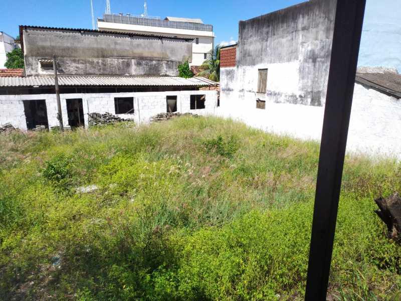 Fundos do terreno - Terreno à venda Rua Setúbal,Penha Circular, Rio de Janeiro - R$ 740.000 - VPTR00003 - 8