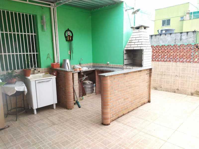 Área gourmet - Casa à venda Travessa da Brandura,Vila da Penha, Rio de Janeiro - R$ 1.080.000 - VPCA20340 - 24
